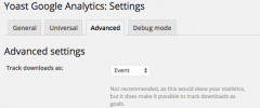 Google Analytics by Yoast screenshot 4