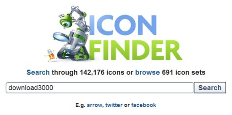 IconFinder Search
