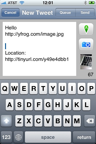 yfrog for iPhone